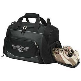 Custom 22 Black Sports Duffel Bag