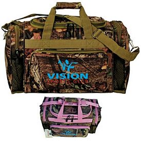Promotional Mossy Oak Camo 20 Outdoor Duffel