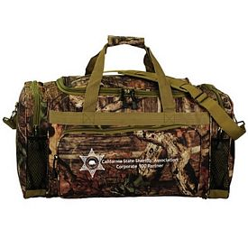 Customized Mossy Oak Camo 24 Outdoor Duffel