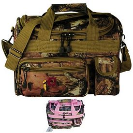 Promotional Mossy Oak Camo 13 Travel Duffel