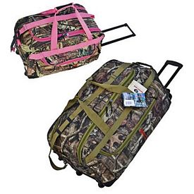 Custom Mossy Oak Camo Ultimate Rolling Duffel