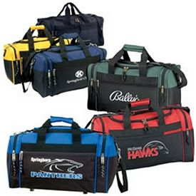Promotional 17 Sports Two-Tone Gym Duffel Bag