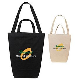 Promotional 14 Oz Canvas Shopping Tote Bag