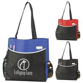 Promotional Nonwoven Conference Tote Bag