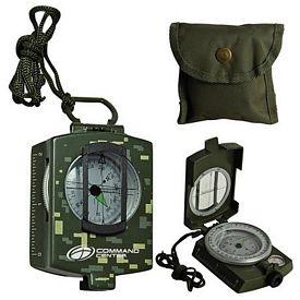Promotional Metal Prismatic Compass-Military Model
