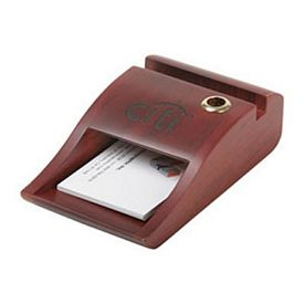 Custom Business Card-Memo Pad Holder Pen Stand In One
