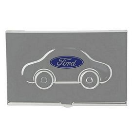 Custom Automobile Metal Business Card Case