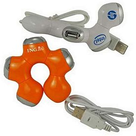 Promotional Twister 4 Port Usb 20 Hub