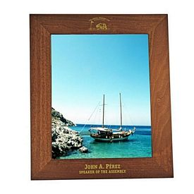 Custom Broad-Flat Collection 8X10 Picture Frame