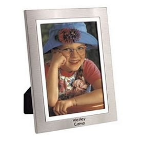 Promotional Two-Tone Metal Frame 4X6 Picture Frame