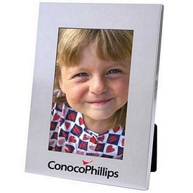 Promotional Matte Silver Collection 5X7 Picture Frame