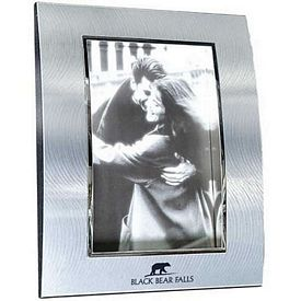 Promotional Two-Tone Curved Metal 5X7 Picture Frame