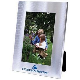 Customized Wave Collection Metal 4X6 Picture Frame