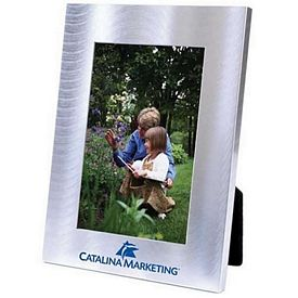 Promotional Wave Collection Metal 5X7 Picture Frame