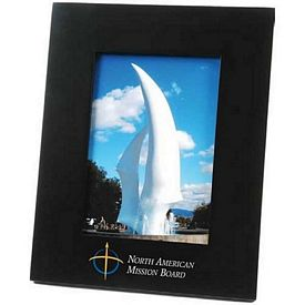 Custom Wide-Border Wood 5X7 Picture Frame