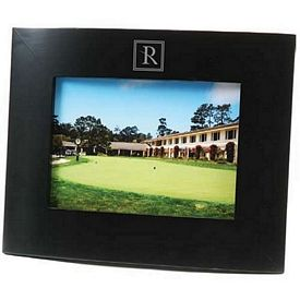 Customized Curved Wood 5X7 Picture Frame With Wide Borders