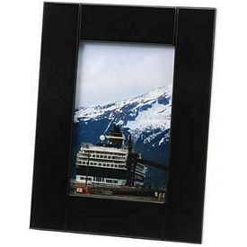 Promotional Medium-Border Black Wood 4X6 Picture Frame