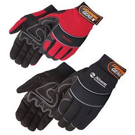 Custom Premium Simulated Leather Reinforced Palm Mechanic Gloves