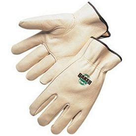 Custom Quality Grain Cowhide Driver Safety Work Gloves