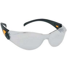 Promotional Sporty Single-Piece Silver Mirror Lens Safety Glasses