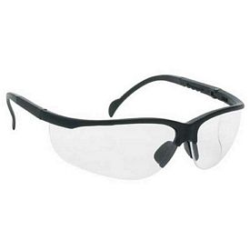 Promotional Wrap-Around Polycarbonate Frame Clear Lens Safety Glasses