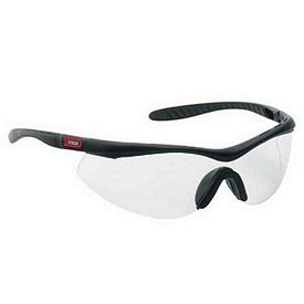 Promotional Clear Single-Piece Polycarb Lens Wrap Around Safety Glasses