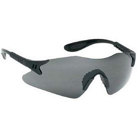 Promotional Stylish Single-Piece Grey Lens Safety Glasses