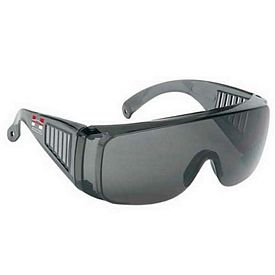 Promotional Large Frame Single-Piece Lens Safety Sun Glasses