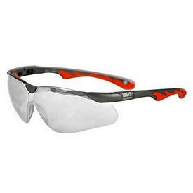 Customized Premium Sports Style Clear Lens Safety Glasses