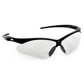 Customized Clear Nylon Premium Sport Style Wrap Around Safety Sun Glasses