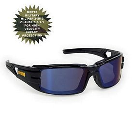 Promotional Blue Trooper Style Premium Safety Sun Glasses