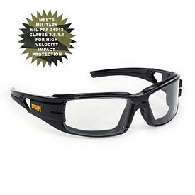 Custom Clear Anti-Fog Trooper Premium Safety Glasses