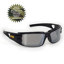 Customized Silver Trooper Style Premium Safety Sun Glasses