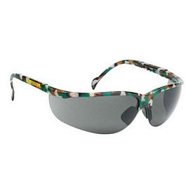 Promotional Grey Lens Wrap Around Camo Safety Sun Glasses