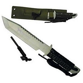 Promotional 11 Fire Starter Hunting Knife