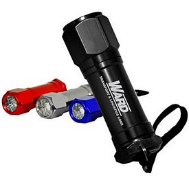 Promotional 8-Led Non-Rolling Flashlight