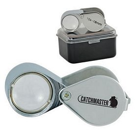 Customized 10X Double Lens Loupe
