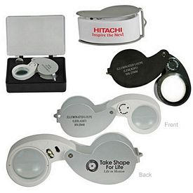 Promotional Light Weight 10X Illuminated Loupe