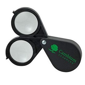 Promotional 16X Double Lens Folding Magnifier