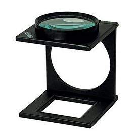 Promotional 33X Folding Stand Magnifier With Ruler