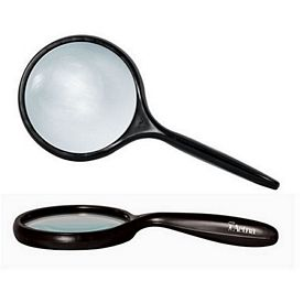 Promotional 3X Bent Handle Hand Held Magnifier 3 Lens