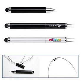 Promotional Cap-Off Magnetic Ballpoint Stylus Pen