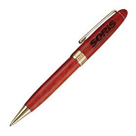 Promotional Hotel Manager Twist-Action Wooden Ballpoint Promotional Pen