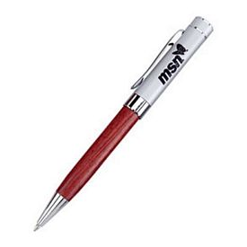 Promotional Importer Twist-Action Wooden Ballpoint Promotional Pen