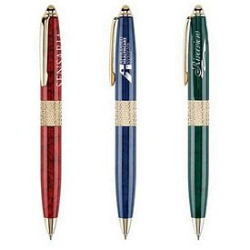 Promotional Event Planner Twist-Action Ballpoint Pen
