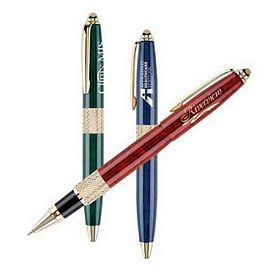 Promotional Cap-off Roller Ball Pen