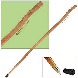 Promotional 55 Heavy Duty Wooden Hiking Or Walking Stick