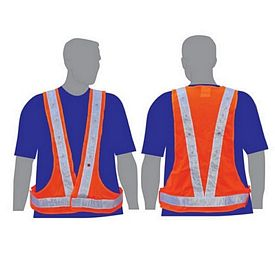 Custom Dual Color Illuminated Safety Vest