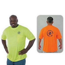 Custom High Visibility Safety T-Shirt