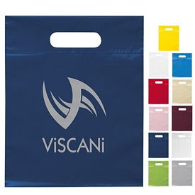 Promotional 9.5x12 Die Cut Handle Shopping Bag